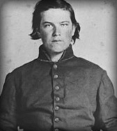 Private J Peek, Company K, 9th Georgia Infantry