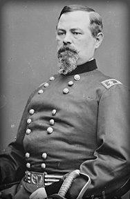 Brigadier General Irvin McDowell was assigned to command the McDowell's Army on 28 May, 1861
